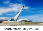 sochi  russia   march 2  2016 ... | Shutterstock . vector #392493250