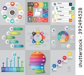 infographics step by step.... | Shutterstock .eps vector #392494528