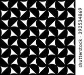 vector modern seamless geometry ... | Shutterstock .eps vector #392534869