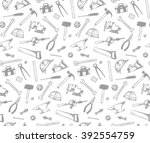 Seamless Pattern Of The Working ...