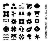nature vector icon  8   Shutterstock .eps vector #392569588