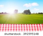 picnic outdoors | Shutterstock . vector #392595148