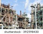 industrial building in japan  | Shutterstock . vector #392598430