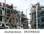industrial plant at kawasaki | Shutterstock . vector #392598433