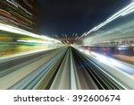 going trough the underground... | Shutterstock . vector #392600674