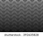 wavy  zigzag  lines pattern.... | Shutterstock . vector #392635828