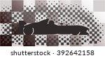 race cars illustration of...   Shutterstock .eps vector #392642158