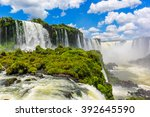 The Majestic Iguazu Falls  One...
