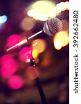 live music background... | Shutterstock . vector #392662480