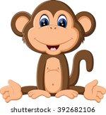 illustration of cute cartoon... | Shutterstock .eps vector #392682106