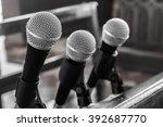 microphones | Shutterstock . vector #392687770
