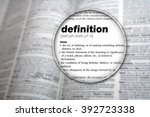 dictionary showing the word ... | Shutterstock . vector #392723338
