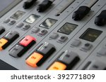 mixer at the radio station | Shutterstock . vector #392771809