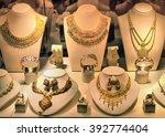 dubai  uae   october 28  gold... | Shutterstock . vector #392774404