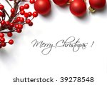 Christmas Frame For Greeting...