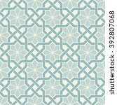 ornamental seamless pattern.... | Shutterstock .eps vector #392807068
