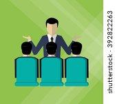 business icon design | Shutterstock .eps vector #392822263