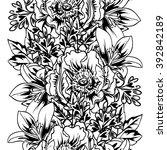abstract elegance seamless... | Shutterstock .eps vector #392842189