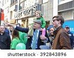 new york city   march 17 2016 ... | Shutterstock . vector #392843896