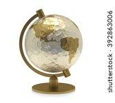 globe | Shutterstock . vector #392863006