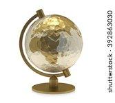 globe | Shutterstock . vector #392863030