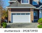 Small photo of Double doors garage.