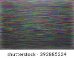 screen glitch texture | Shutterstock . vector #392885224