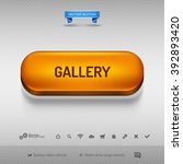orange button for webdesign or...