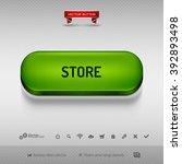 green button for webdesign or...   Shutterstock .eps vector #392893498