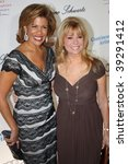 NEW YORK, NY - OCTOBER 20: Hoda Kotb (L) and Kathie Lee Gifford (R) attend the 2009 Angel Ball on October 20, 2009 in New York City. - stock photo