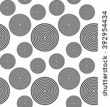 pattern with circles | Shutterstock .eps vector #392954434