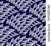 Indigo Seamless Pattern. Blue...