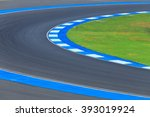 Race Track Curve Road For Car...