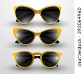 sunglasses vector illustration | Shutterstock .eps vector #393064960