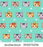 Cats. Cats Seamless Pattern....