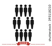 People Icon Vector Illustratio...