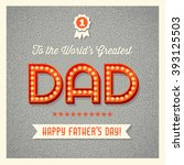 Happy Father\'s Day Card With...