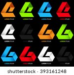 vector unfinished triangle... | Shutterstock .eps vector #393161248