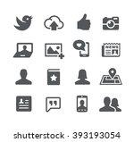 social icons    utility series