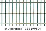 square iron cage isolate on... | Shutterstock . vector #393199504