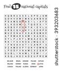 educational game for kids  word ...   Shutterstock .eps vector #393203683