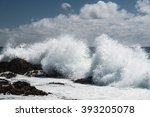 Waves Crashing Over Snapper...