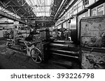 turning equipment machinery... | Shutterstock . vector #393226798