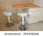 Two Swivel Stools And Kitchen...