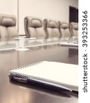 vertical notepad for agenda... | Shutterstock . vector #393253366