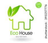 green house logo | Shutterstock .eps vector #393257776