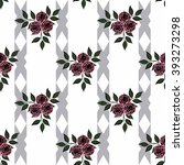 seamless abstract pattern with... | Shutterstock . vector #393273298