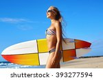 recreational water sports in... | Shutterstock . vector #393277594