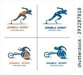 set of logos  signs.... | Shutterstock .eps vector #393287818