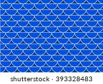 abstract white   blue wave... | Shutterstock .eps vector #393328483